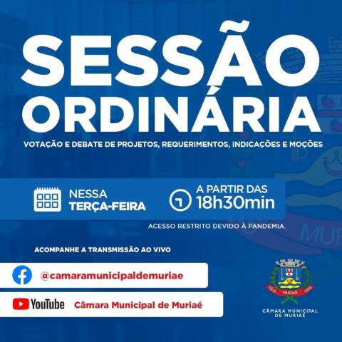 Por determinação do presidente da Câmara, Afonso da Saúde (PTB), serão colocados em pauta na sessão desta terça-feira, dia 31, os seguintes projetos de lei: