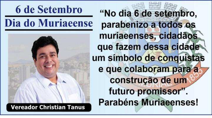 Vereador  Christian Tanus