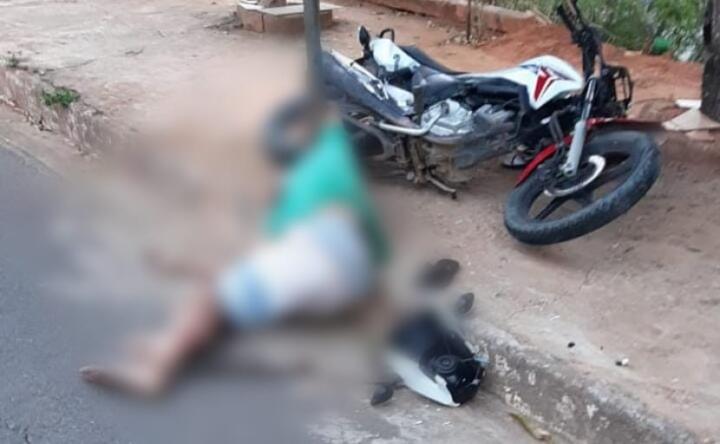 Motociclista sofre acidente grave no João XXIII