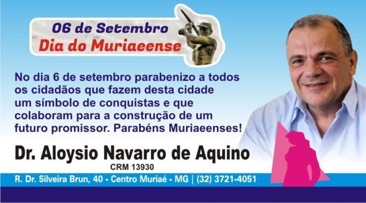 DR. ALOYSIO AQUINO