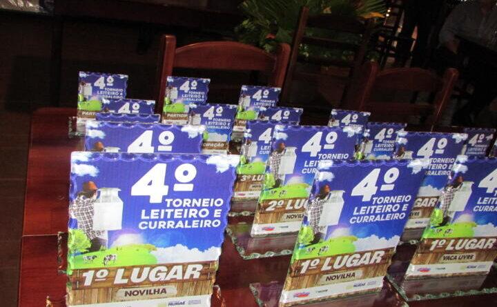 Vencedores do Torneio Leiteiro Curraleiro recebem prêmios da Prefeitura de Muriaé